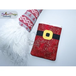 ITH CHRISTMAS BAG - Santas Belt - 5x7 inch