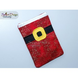 ITH CHRISTMAS BAG - Santas Belt - 5x7 inch
