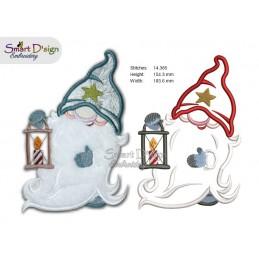 Applique Gnomes 5x7 inch