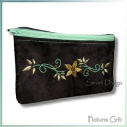 Flower ITH Zipper Bag 5x7 inch