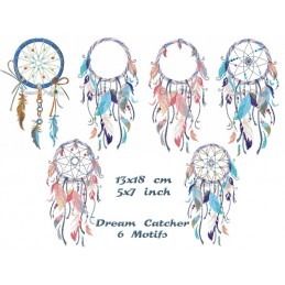 6 x Dream Catcher 5x7""