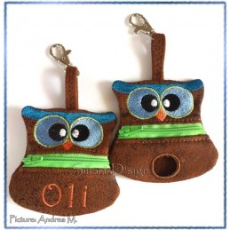 ITH Set 2 Doggy Bags OWL 4x4 inch