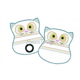 ITH Set 2 Doggy Bags CAT 4x4 inch