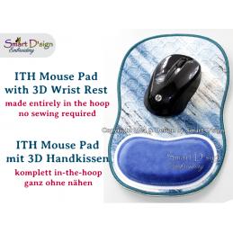 ITH Mousepad mit 3D Kissen Handauflage