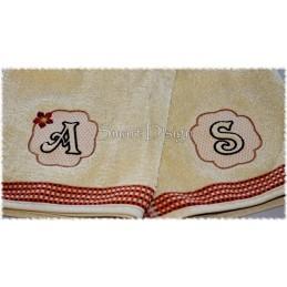 26 Präge Buchstaben Motive 10x10 cm