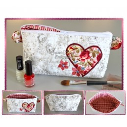 ITH Cosmetic Bag DELIGHT 7x12 inch