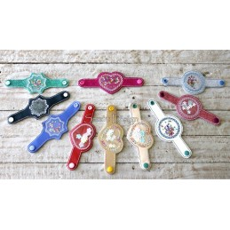 10 Festliche Armbänder ITH 13x18 cm