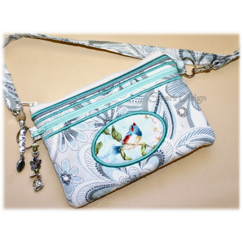 ITH Lovely Shopping Clutch 5.5x7.9 inch