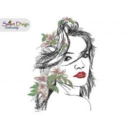 CARIBBEAN BEAUTY Doodle Sketch Design
