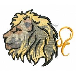 Zodiac Leo 5x7 inch