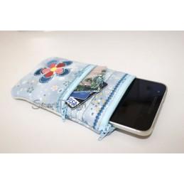 ITH Blüte Handy Taschen 13x18 cm