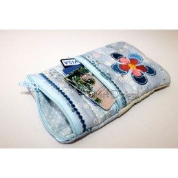 ITH Flower Mobile Bags with Zipper 5x7 inch