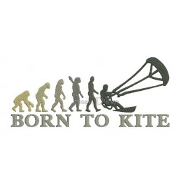 2x Born To Kite 5x7 inch