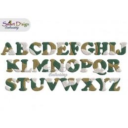 CAMOUFLAGE Alphabet 1.8 cm - auch BX Format verfügbar