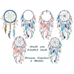 6 x Dream Catcher 6.2x10.2""