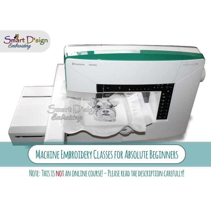 Absolute Beginners Machine Embroider Class
