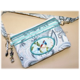 ITH Lovely Shopping Clutch X-LARGE 7x12 inch