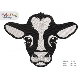 HOUSE COW HEIFER 4x4 inch