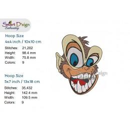 Funky Monkey 2 sizes 4 styles