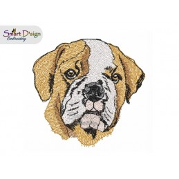 Englische Bulldogge Füllstich