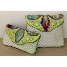 ITH 2x Easy Quilt Applique Flower Bags