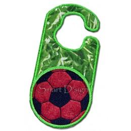 Soccer Ball ITH Door Hanger 5x7 inch