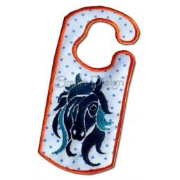 Tinker Horse ITH Door Hanger 5x7 inch