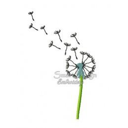 Dandelion Flower 5x7 inch