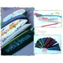 15 x ITH Uphill Pencil Cases 6x10 inch