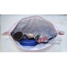 ITH Cosmetic Bag REISEPILLEN 7x12 inch