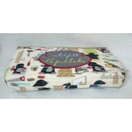 ITH Cosmetic Bag NOTFALL APOTHEKE 7x12 inch