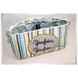 ITH Cosmetic Bag SPIEGLEIN 7x12 inch