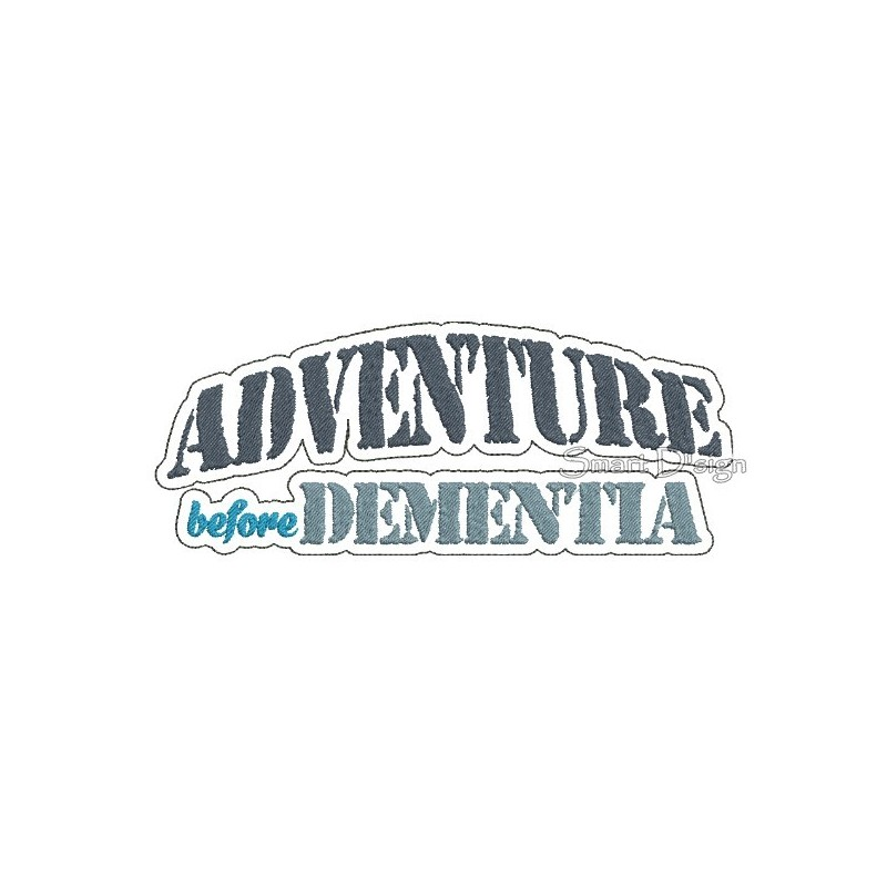 Adventure Before Dementia Art 5x7 inch