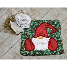 Set 2 x Coaster Gnome 5x5 inch