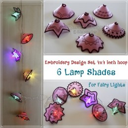 ITH 6 Lamp Shades 4x4 inch