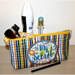 ITH Cosmetic Bag Set MY SECRET 7x12 inch