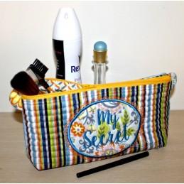 ITH Cosmetic Bag Set MY SECRET 7x12 inch
