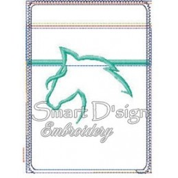 ITH HORSE Silhouette Mobile Bag