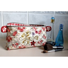 ITH Cosmetic Bag ROMANCE 7x12 inch