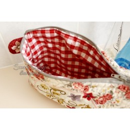 ITH Cosmetic Bag ROMANCE 7x12 inch