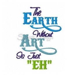 Earth without Art 13x18 cm