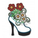 My Lovely Bloomers - Flower Shoe 5x7 inch