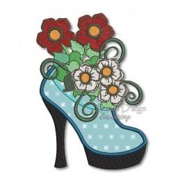 Meine Lieblingsblumen - Blütenschuh 13x18 cm