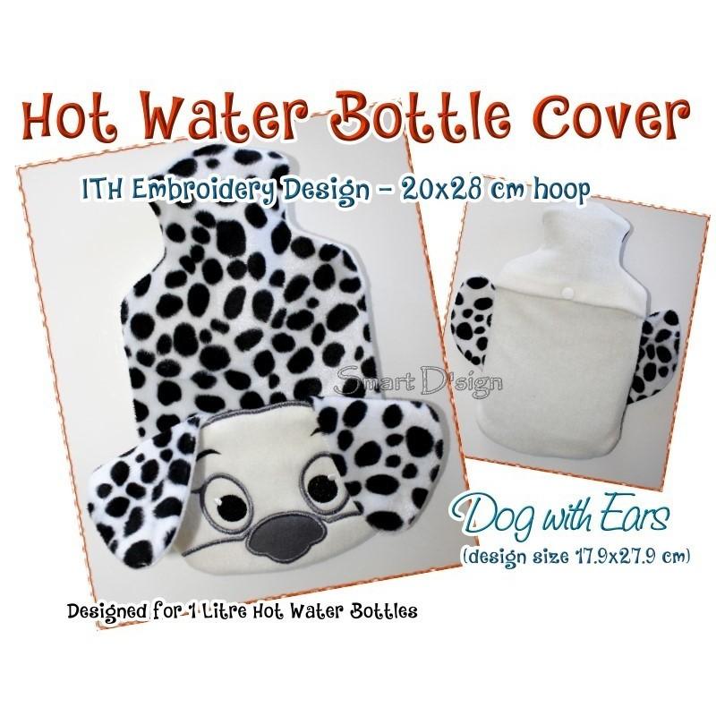 ITH Wärmflaschen-Hülle - Dalmatiner Hund - 18x28 cm