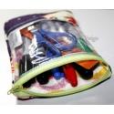 ITH 3x Fenster-Taschen mit Futter