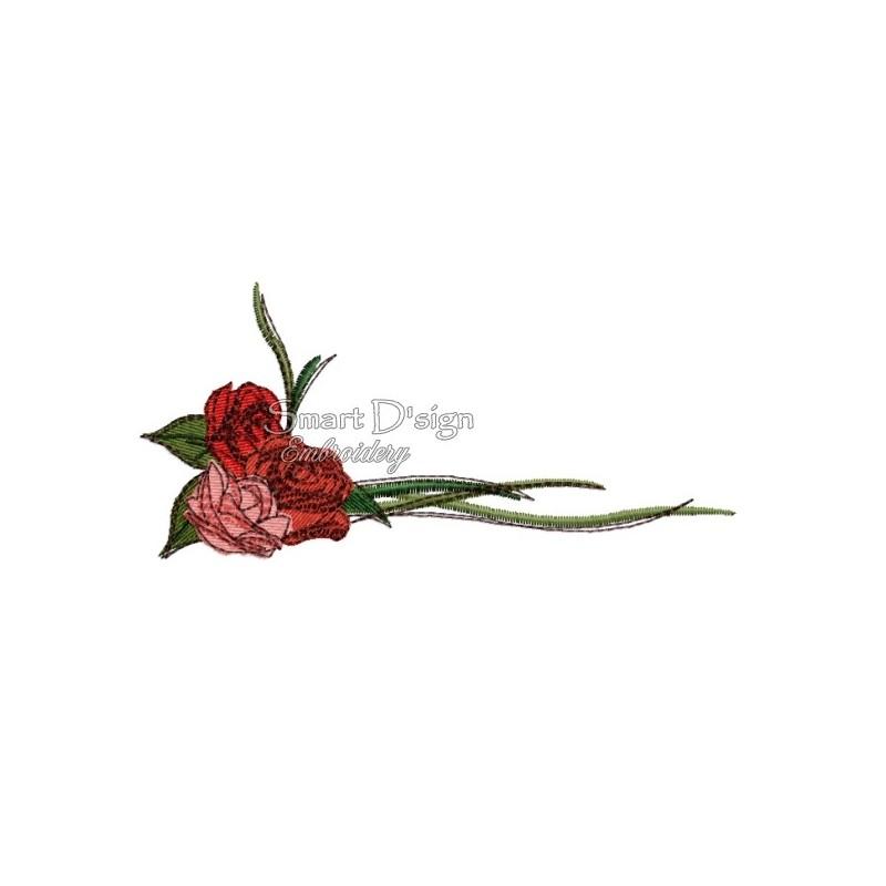 """Romantic Rose Bouquet Nr. 1 5x7"""""""