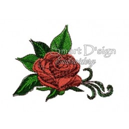 Romantic Rose Bouquet Nr. 1 4x4 inch