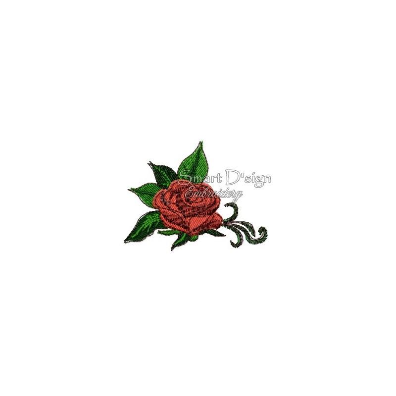 Romantische Rosen Nr. 1 10x10 cm