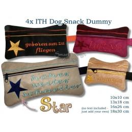 ITH Set 4x Star Futter Dummy 4x Größen