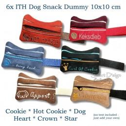 ITH Set 6x Snack Dummy 4x4 inch